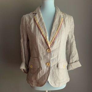 cartonnier sunglow blazer jacket by anthropologie